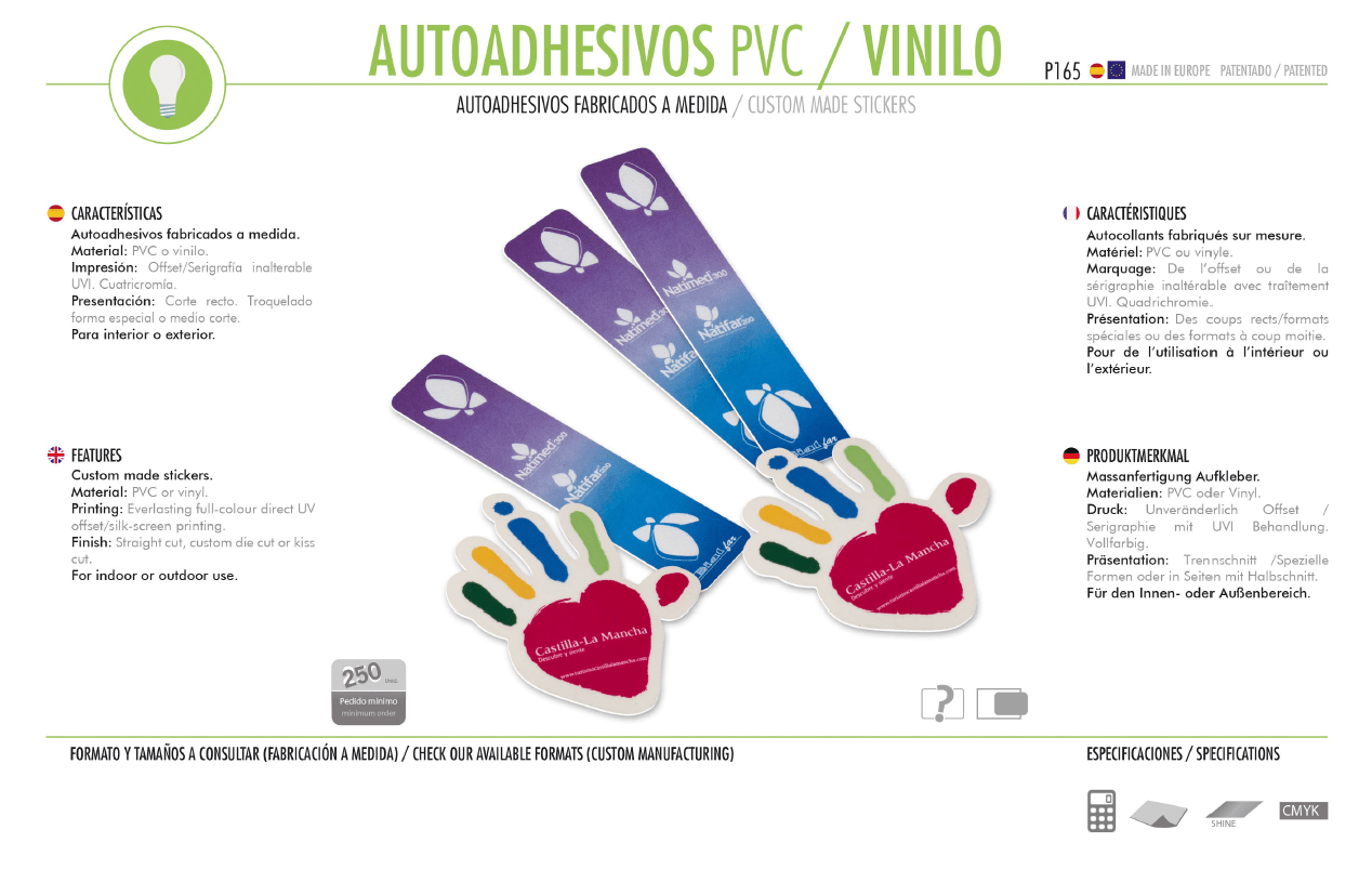 Autoadhesivos PVC/Vinilo