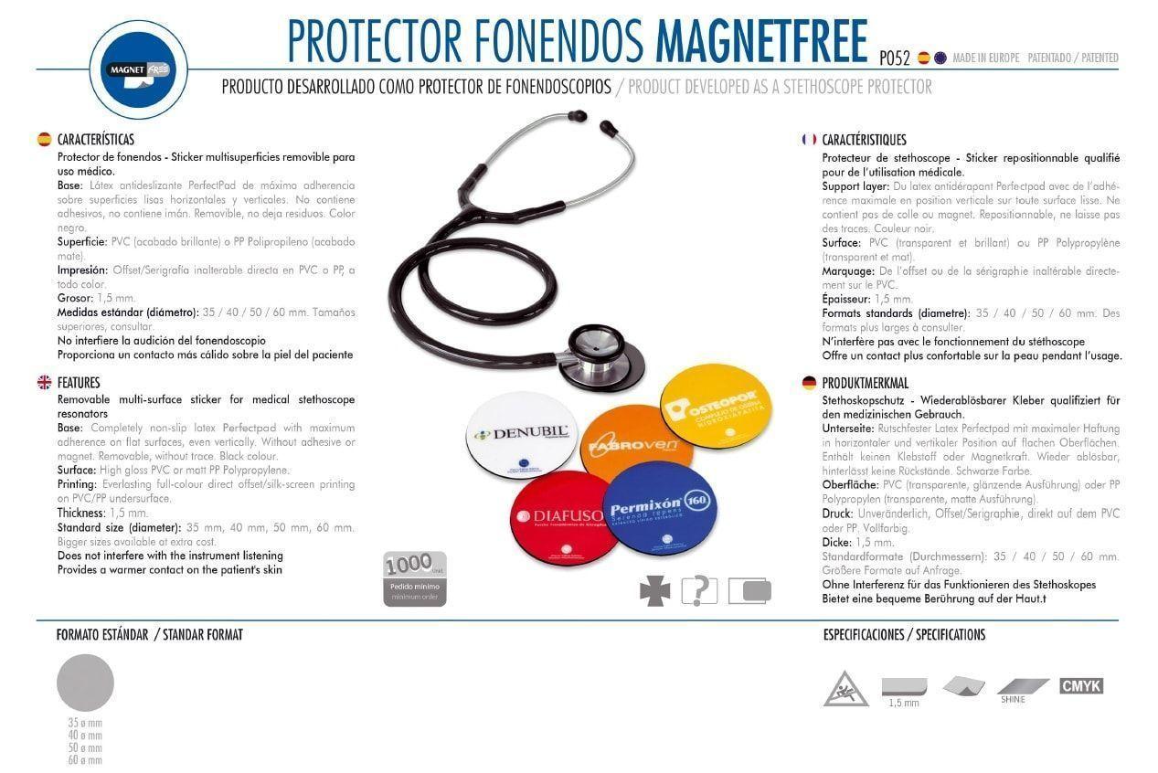Protector Fonendos Magnetfree