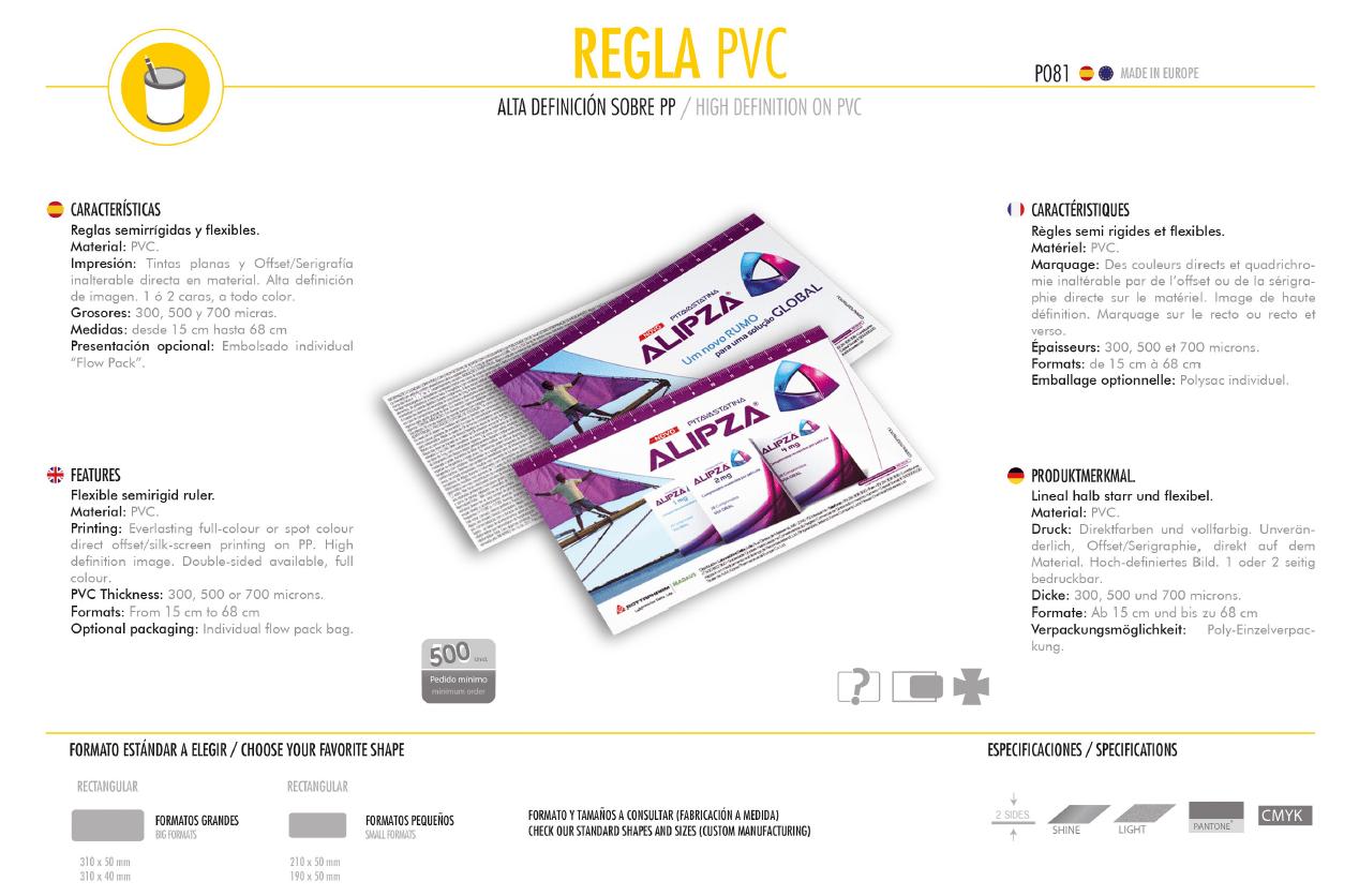 Reglas PVC