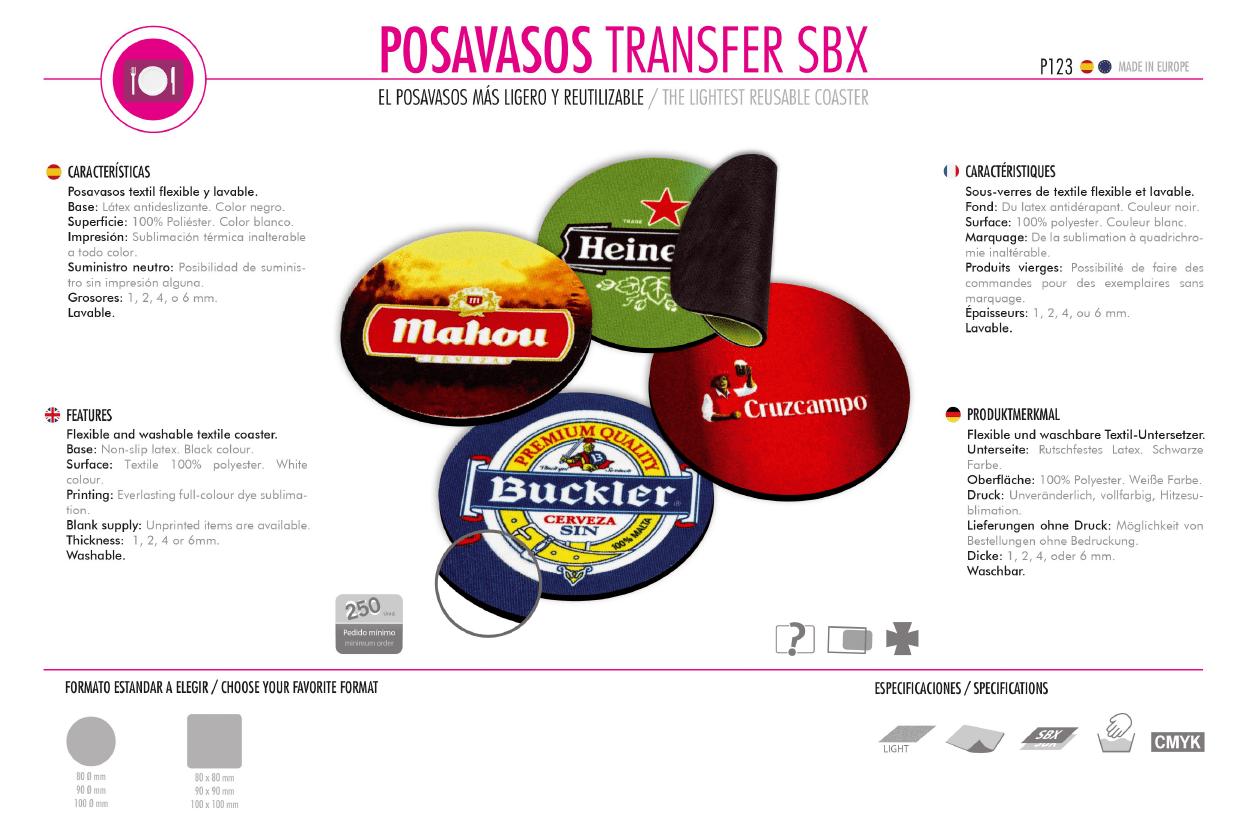 Posavasos Transfer SBX