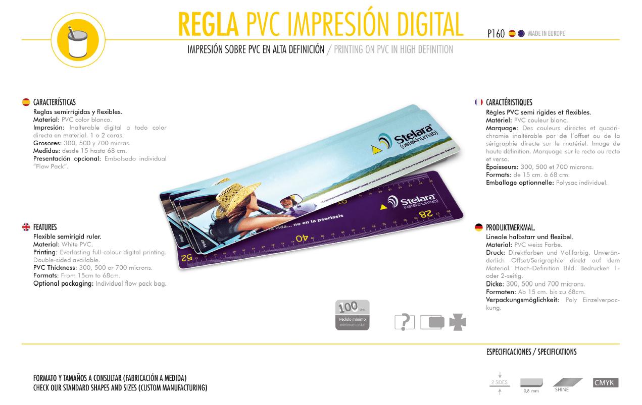 Reglas PVC Digital