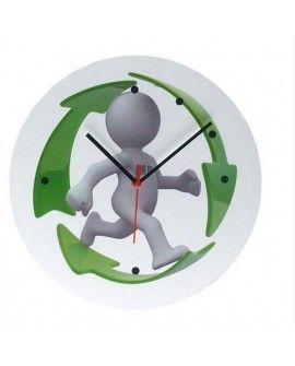 Reloj de Pared a Todo Color