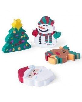 Set Gomas Flop Navidad